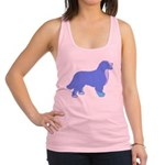 Tri Colorful Bernese Racerback Tank Top