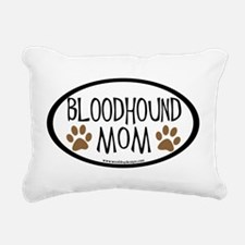 bloodhound mom two paws.png Rectangular Canvas Pil