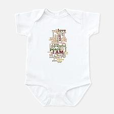 I AM Affirmations Infant Bodysuit