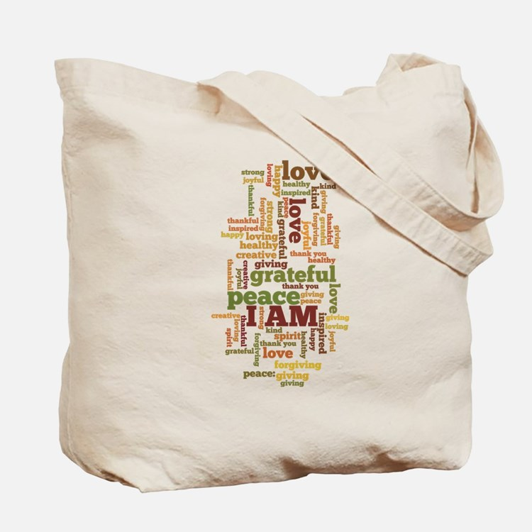 I AM Affirmations Tote Bag