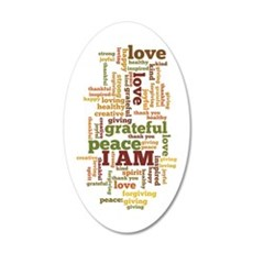 I AM Affirmations Wall Decal