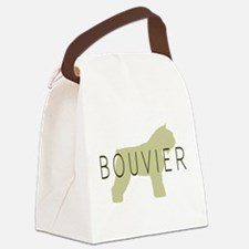 bouvier sage with text.png Canvas Lunch Bag