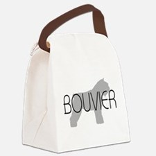 bouvier des flandres grey with text.png Canvas Lun