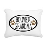 bouvier grandma two paws.png Rectangular Canvas Pi