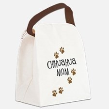 chihuahua mom.png Canvas Lunch Bag