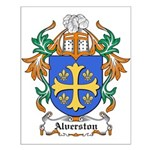 Alverston Coat of Arms Small Poster