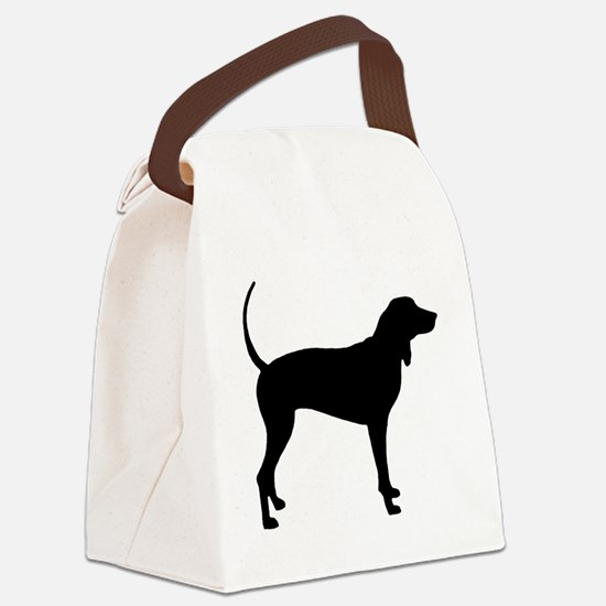Coonhound Canvas Lunch Bag