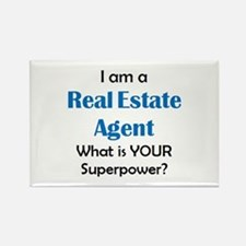 real estate agent Rectangle Magnet