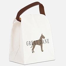 greytones great dane wd.png Canvas Lunch Bag