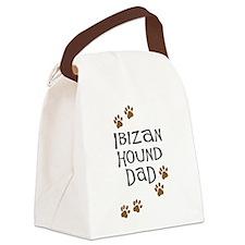 ibizan hound dad.png Canvas Lunch Bag