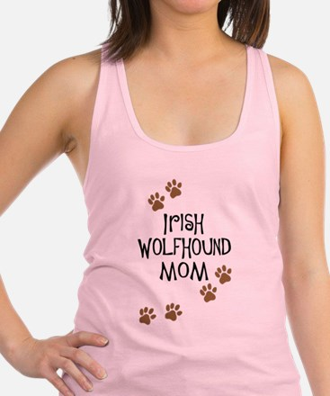 irish wolfhound mom.png Racerback Tank Top