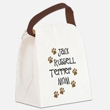 jack russell terrier mom.png Canvas Lunch Bag