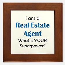 real estate agent Framed Tile