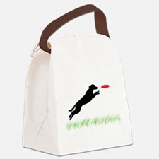 disc dog grass 2.png Canvas Lunch Bag