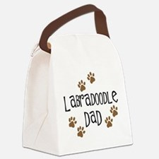 3-labradoodle dad.png Canvas Lunch Bag
