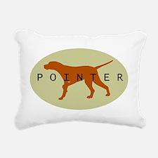 pointer sage orn2.jpg Rectangular Canvas Pillow