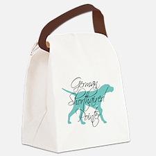 Elegant Teal GSP Canvas Lunch Bag