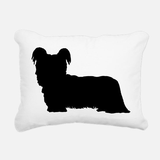 Skye Terrier Rectangular Canvas Pillow