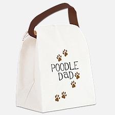 poodle dad.png Canvas Lunch Bag
