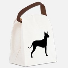 xolo profile black.png Canvas Lunch Bag