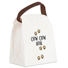 chow chow mom.png Canvas Lunch Bag