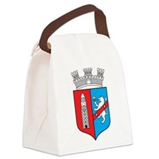 Tirana Coat Of Arms Canvas Lunch Bag