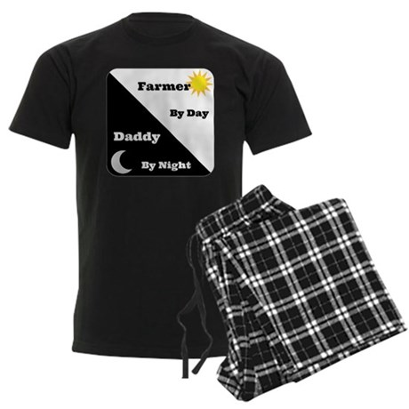 Farmer by day Daddy by night Men's Dark Pajamas