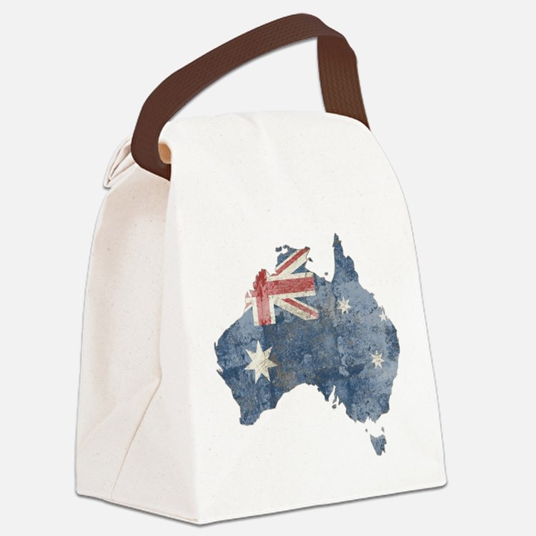 Cute Australia Canvas Lunch Bag