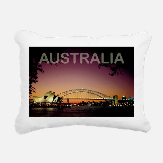 Australia Rectangular Canvas Pillow