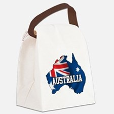 Map Of Australia Canvas Lunch Bag