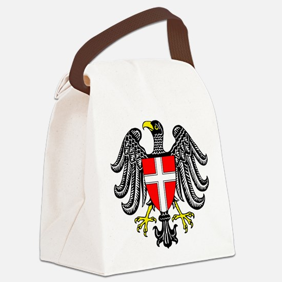 Vienna Coat Of Arms Canvas Lunch Bag