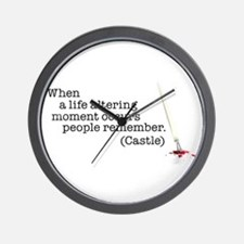 Life altering moment Wall Clock