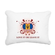 Love It Barbados Rectangular Canvas Pillow