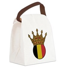 King Of Belgium Canvas Lunch Bag