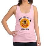 100% Made In Belgium Racerback Tank Top
