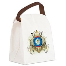Stylish Belize Canvas Lunch Bag