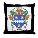 Alleet Coat of Arms Throw Pillow