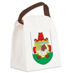 Bermuda Coat Of Arms Canvas Lunch Bag
