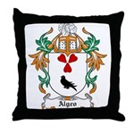 Algeo Coat of Arms Throw Pillow