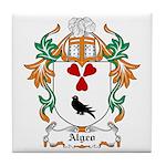 Algeo Coat of Arms Tile Coaster