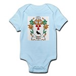 Algeo Coat of Arms Infant Creeper