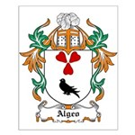 Algeo Coat of Arms Small Poster