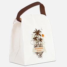 Ipanema Brazil Canvas Lunch Bag