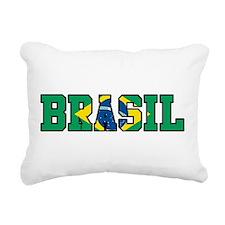 Brasil Rectangular Canvas Pillow
