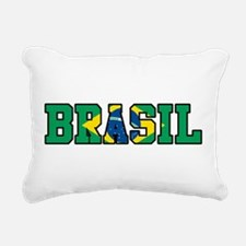 Brasil Rectangular Canvas Pillow
