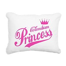 Colombian Princess Rectangular Canvas Pillow