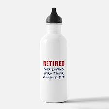 Retired Senior Water Bottle