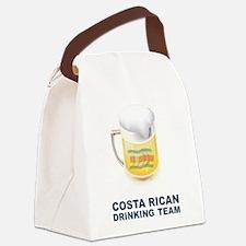 Cute Costa rican Canvas Lunch Bag