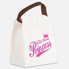 Costa Rican Princess Canvas Lunch Bag