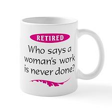 Retired Woman Mug